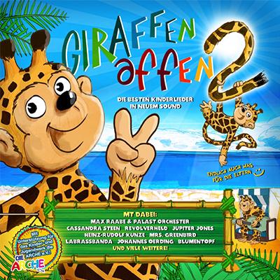 Giraffenaffen: Es klappert die Mühle